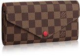 Louis Vuitton Damier Ebene Canvas Josephine Wallet N63543