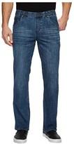 Nbz(R) NBZ(r) Elastic Waist Straight Leg Jean in Sunrise Blue (Sunrise Blue) Men's Jeans