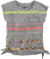 Osh Kosh Girls 4-6x Embellished Side-Tie Tee