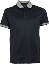 Etro Contrast Collar Polo Shirt