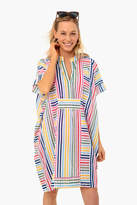 India Collection By Emerson Fry Rainbow Emerson Short Caftan