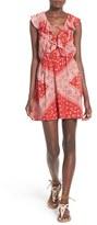 Tularosa Women's 'Trinity' Bandana Print Dress