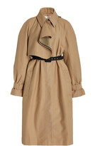 Thumbnail for your product : VVB Women's Double-Faced Cotton-Blend Trench Coat - Neutral - Moda Operandi
