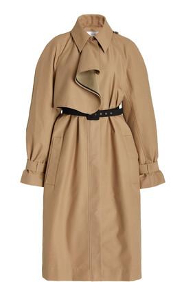 VVB Women's Double-Faced Cotton-Blend Trench Coat - Neutral - Moda Operandi