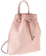 Leather Drawstring Backpack - ShopStyle
