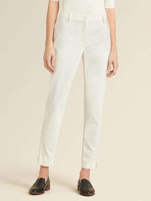 DKNY Donna Karan Women's Zip Front Pant - New Ivory - Size 8