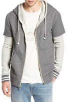 Sol Angeles Men's Layered Hooded Jacket