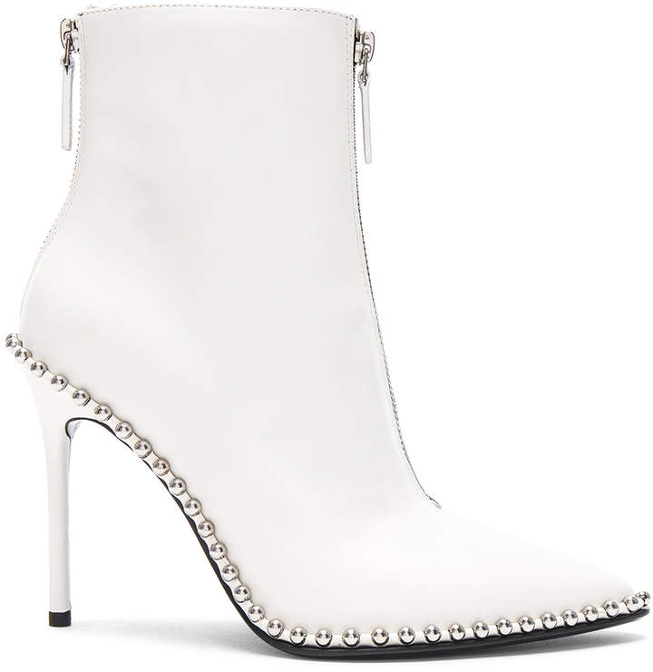 Alexander Wang Leather Eri Boots
