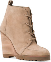 MICHAEL Michael Kors Piper Lace Wedge Booties