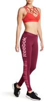 Reebok Mesh Logo Legging