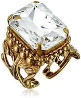 Sorrelli Emerald Cut Band Ring, Size 7-9