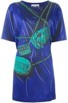 Moschino trompe-l'œil mini bag dress - women - Rayon/Acetate/other fibers - 42