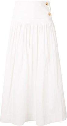 Co High Waist Ruched Skirt