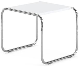 Malik Gallery Collection Marcel Breuer Laccio Nesting Table Small, White Top