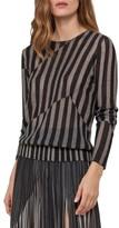 Akris Women's Stripe Jacquard Pullover