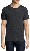 Burberry Millbrook Flecked Jersey T-Shirt, Black