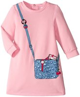 Little Marc Jacobs Purse Illustration Dress (Baby) - Rose Givre - 12 Months