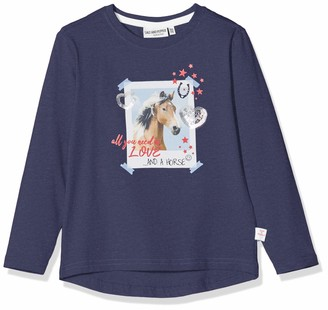 Salt&Pepper Salt and Pepper Girls' 03111262 Longsleeve T - Shirt