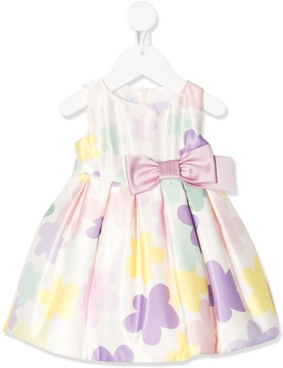 Colorichiari Flower Print Dress