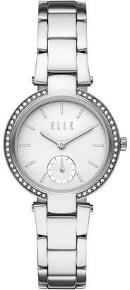 Elle Montmartre Silver-Tone Analogue Watch
