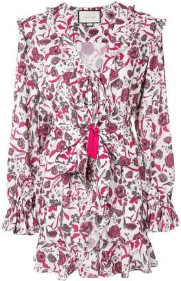 Alexis Kosma floral print mini dress