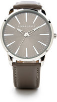 Perry Ellis Smooth Leather Band Watch