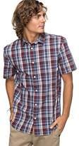 Quiksilver Men's Everyday Check Short Sleeve