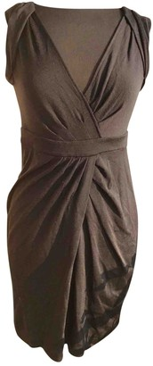 Diane von Furstenberg Black Wool Dresses