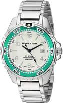 Momentum Women's Quartz Stainless Steel Diving Watch, Color:Silver-Toned (Model: 1M-DN11LA0)