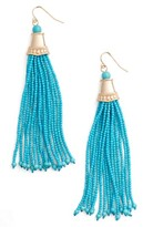 Adia Kibur Women's Beaded Tassel Earrings