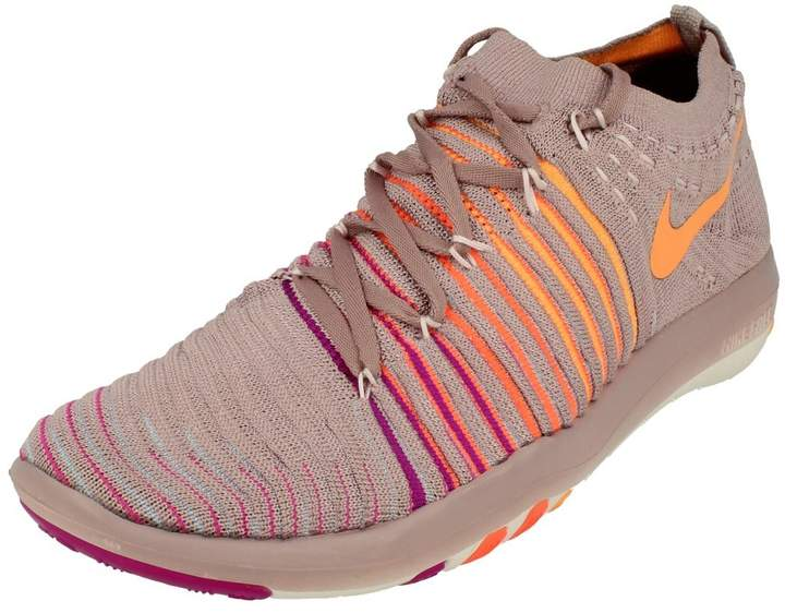 02e5410a6f316 Free Transform Flyknit Womens Running Trainers 833410 Sneakers Shoes (US  7.5, metallic silver wolf grey 101)