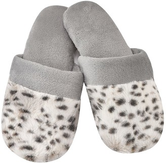 Natori Snow Lynx Slippers