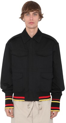 J.W.Anderson Quilted Cotton Canvas Bomber Jacket