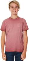 Billabong Kids Boys Nibiru Tee Red