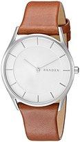 Skagen Women's SKW2453 Holst Dark Brown Leather Watch