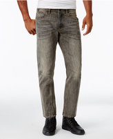 Sean John Men's Bedford Classic Straight Fit Sandstorm Jeans