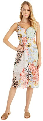 Sanctuary Everyday Slip Dress (Picnic Print) Women's Clothing