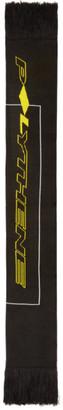 Polythene* Optics Black Short Logo Scarf
