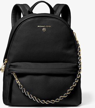 Michael Kors Slater Medium Pebbled Leather Backpack