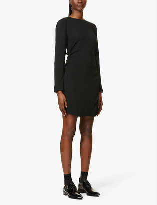 Reformation Charley crepe mini dress