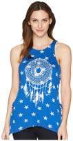 Rock and Roll Cowgirl Loose Fit Tank Top 49-5549 Women's Sleeveless