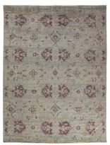 Solo Rugs Oushak Collection Reflected Leaves Oriental Rug
