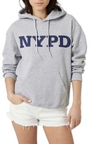 Topshop Women's By Tee & Cake Nypd Logo Hoodie