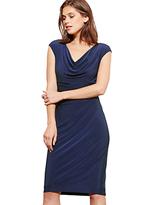 Lauren Ralph Lauren Cowl Neck Stretch Jersey Dress