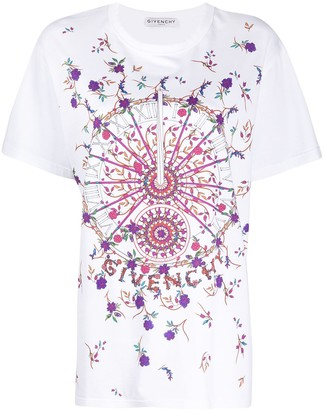 Givenchy Sundial short-sleeve T-shirt