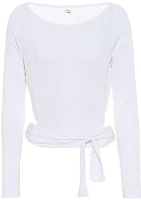Alo Yoga Barre stretch-jersey top