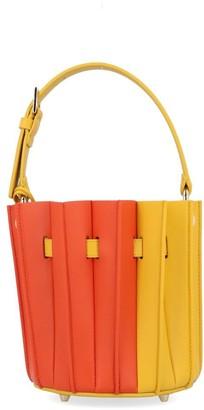 Sara Battaglia Pleated Bucket Bag
