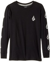 Volcom Deadly Stone Long Sleeve Tee Boy's T Shirt
