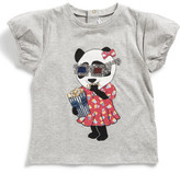 Little Marc Jacobs Girls Short Sleeve Animal T-Shirt (2-3Y)