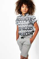 boohoo Boys Textured Sweat Short